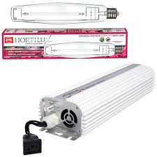 quantum 1000w digital dimmable ballast and hortilux hps
