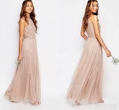 short beach white bridesmaid dresses 2017 bohemian off the