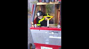 Building A Fire Truck For Halloween Costume - YouTube