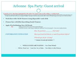 Arbonne Spa Products Party Guest Source Abuse Report