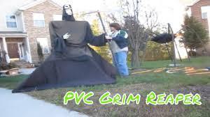 Halloween Coffin Props Effects by Building Homemade Pvc Grim Reaper Halloween Prop Demon Haunted