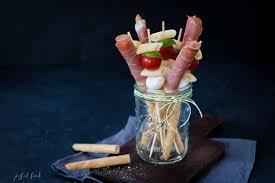 antipasti sticks mediterranes fingerfood