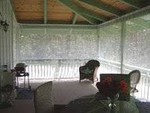Outdoor Living Ideas  Blog Archive  Curtain style Mosquito