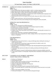 Download Paraprofessional Resume Sample As Image File