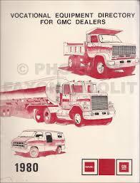 1980 GMC Truck Vocational Equipment Catalog