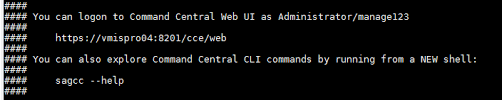 Adding Credentials To Command Central