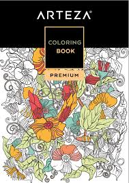 FREE Arteza Downloadable Coloring Book