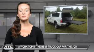 ATC Truck Covers TruckTips - A Work Top Is The Truck Cap For The Job ...