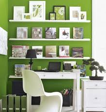Salon Decorating Ideas Budget by Pastel Wall Paint For Small Home Office Ideas With Casual Window