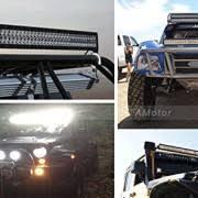 YITAMOTOR 120W 24″ inch Spot Flood bo Work LED Light Bar