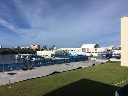 Clearwater Marine Aquarium from the parking garage Picture of