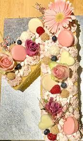 zahlentorte zahlenkuchen 1 geburtstag torte mädchen