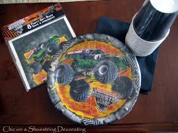 Monster Truck Party Supplies | Trucks Accessories And Modification ... Monster Truck Birthday Party 131430 Supplies Elegant Decorations Jam 3d Paper Hats This Started Monster Truck Backdrop 9 Oz Cups 8 Top Popular 72076 Canada Open A Terbaru 2017 Tondeusebarbefrinfo Real Parties Modern Hostess Youtube Dessert Plates Halloween Ideas 2018 Birthdayexpress Dinner Plate 24