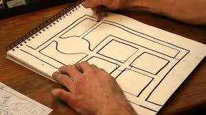 How To Make A Floor Plan On The Computer by How To Draw Street Maps Youtube