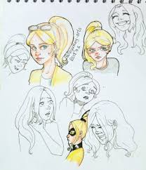 Chloe Bourgeois Sketches I Just Like To Draw Her Emotions She Has So Big Potential