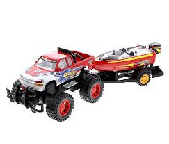 100 Guaranty Used Trucks Amazoncom Monster Truck Trailer With Speed Boat Friction Push