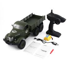 100 Remote Controlled Truck JJRC Q60 116 RC Control Car 24G 6WD Tracked Off Road