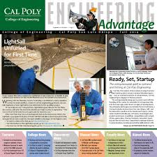 Cal Poly Baker Floor Plan by Cal Poly Engineering Advantage Spring 2015 By Engineering