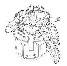 Cartoon Coloring Pages Printable Transformers