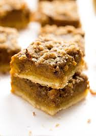 Pumpkin Pie With Pecan Streusel Topping by Pumpkin Pie Streusel Bars Video Truffles And Trends