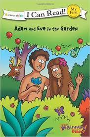 The Beginners Bible Adam And Eve In Garden I Can Read Kelly Pulley 9780310715528 Amazon Books