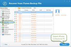 Free Ways to Export Transfer iPhone Contacts to puter