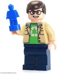 lego ideas big theory minifigure leonard hofstadter from set 21302