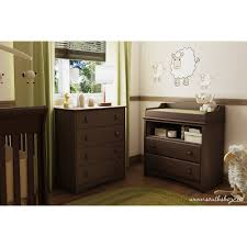Baby Changer Dresser Combo by South Shore Angel Changing Table With Drawers Multiple Finishes