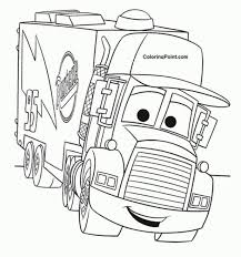 Film Childrens Colouring Pages Creative Cars 2