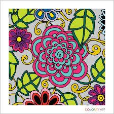 Coloring Books Adult Floral Colour Book App
