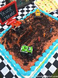 100 Monster Truck Party Ideas Snazzy Jam Birthday Cake Grave Digger