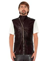 mens leather motorcycle vests online at leatherright