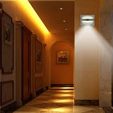 z edge motion sensor activated led wall sconce light