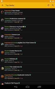 Hearthstone Deck Builder Tool by Deckmaster Hearthstone Android Apps On Google Play