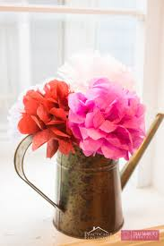 Handmade Tissue Paper Flowers Make A Beautiful Bouquet Perfect For Parties Weddings Baby