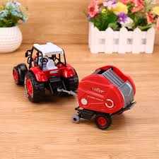 100 Toy Farm Trucks And Trailers 132 Alloy Tractors Model Engineering Car Truck Harvest