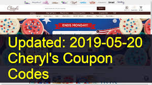 Cheryl's Cookies Hot Promo Codes & Coupons