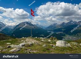 100 Muottas Muragl Offers Fantastic View Val Stock Photo Edit Now