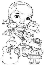 Full Image For Disney Junior Coloring Pages Free Printable Valentine