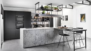 küche mit arbeitsplatte in terrazzo optik schmidt