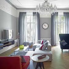 Red Living Room Ideas Uk by Renovated Victorian London Home House Tours Living Room Tv And