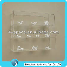 Wall Mounted Acrylic Display Case Wholesale Custom Plexiglass Model Cabinet