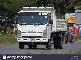 CHIANG MAI, THAILAND - APRIL 8 2018: Private Isuzu Dump Truck. On ...
