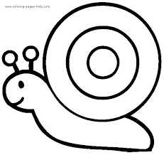 Snail Coloring Pages Color Plate Sheetprintable Picture