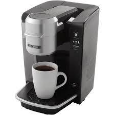 Mr Coffee Single Serve Brewer Powered By Keurig Brewing Technology Black