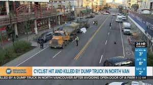100 Dump Truck Song Cyclist Killed By Dump Truck In North Vancouver