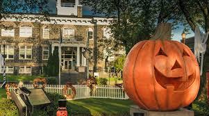 Halloween Town Burbank by Warner Bros Lot Visit To La La Land Set