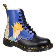 Beavis And Butthead Halloween Youtube by Dr Martens X Beavis U0026 Butthead Blue Pascal Boots Limited Edition