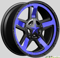 China America Tuff Rock Star 20inch Aluminium Offroad Alloy Wheels 6 ...