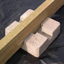 plot reglable pour terrasse bois plot en beton pour terrasse bois guide construction terrasse bois